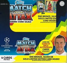 2017-18 Topps UEFA Champions League Soccer Match Attax New 50pk Display Box