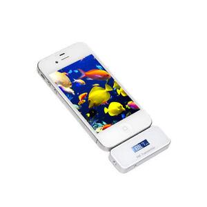 F51D 80x Fm Transmitter White For Apple IPHONE 4 4S 3S Ipod IPAD Car Radio
