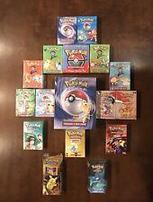 WOTC Sealed Pokemon Theme deck Lot Base Set Box/Jungle/Fossil/Base Set 2/Gym/Neo