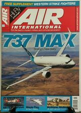 Air International Sept 2016 737 Max Boeing's New Baby Aviation FREE SHIPPING sb