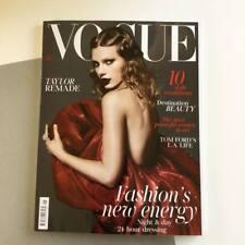 VOGUE Magazine BRITISH January 2018 Taylor Swift by Mert Alas Marcus Piggott NEW