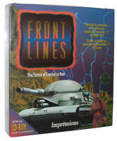 Front Lines Impressions DOS CD-Rom PC Box Video Game