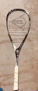 Dunlop Hyperfibre+ Evolution Squash Racquet Racket of Declan James!