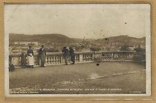 Cpa Périgueux - terrasse de Tourny vue sur les faubourgs St Georges rp0604