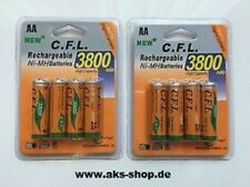 Battery 8 x C. for L Rechargeable AA / NiMH BATTERIES 3800 mAh Battery
