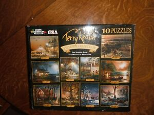 WHITE MOUNTAIN TERRY REDLIN PUZZLES 10 pack gift set 3400 pcs total ! sealed new