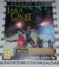 LARA CROFT e il tempio di Osiris stagione passa solo per Playstation 4 PS4