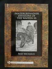 Panzergrenadier Divisions of the Waffen-SS - over 190 bw images, maps , 208 page