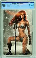 Red Sonja: Age of Chaos #2 Comics Elite Szerdy Virgin Exclusive - CBCS 9.8!