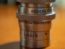 25mm f2.5 Revere-Scienar Anastigmat - USA Seller - fits micro 4/3 w/adapter