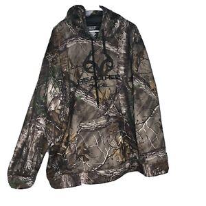 REALTREE Edge Mens Camo Fleece Hunting Hoodie Pullover 3XL