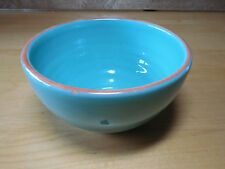 "Bobby Flay BF Portugal PLANCHA Turquoise Set of 3 Bowls 5 1/2"""