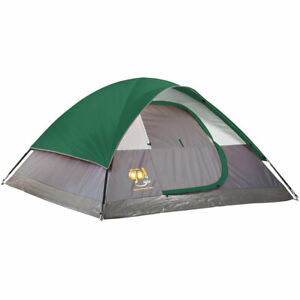 Coleman Go! 4-Person Dome Tent  9 x 7 feet - BRAND NEW camping outdoors with fly
