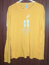Olympic Games 2010 Vancouver Official TORCH RELAY shirt jersey maglia camiseta