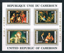 Cameroun 1976 Christmas miniature sheet **/MNH SG MS781