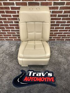2010 Lincoln Navigator Leather Front Passenger Side Seat, Heated & Cooled, Tan