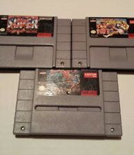 SNES Street Fighter 2, Super SF2 and SF2 Turbo - authentic