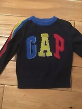 Lovely Baby Boys Navy  GAP JUMPER, Aged 18-24m