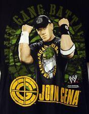 WWE Wrestling John Cena Chain Gang Battalion Black S/S T-Shirt L