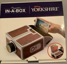 Yorkshire Smartphone Projector-In-A-Box Cinema DIY Portable Mobile Phone NEW