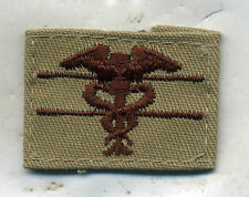 US Army Expert Field Medical Badge DCU Desert Tan Badge Patch