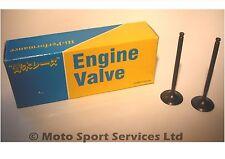 Mitaka S/Steel Exhaust Valves x2 Yamaha YZ250F YZF 250 2001 to 2012 WR250F WR