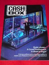CASH BOX - NSM PERFORMER-GRAND LASER DISC JUKEBOX - Nov 23 1991 Vol LV #15
