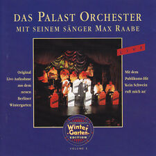 MAX RAABE - CD - Berliner Wintergarten Edition Vol.3
