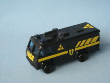 Matchbox Commando Command Vehicle Black Unboxed Army