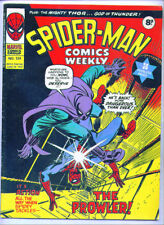 1975 UK Marvel SPIDER-MAN COMICS WEEKLY #124, Jack Kirby Thor origin, Gene Colan