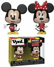 Vynl. Disney - Mickey Mouse and Minnie Mouse Vinyl Figures