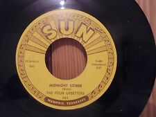 45 SUN 381 THE FOUR UPSETTERS Crazy Arms - Midnight Soiree - SAX Instrumental M-