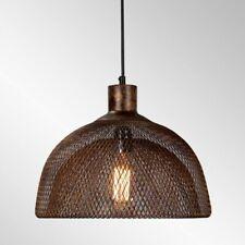 Kosas Nova Copper Bronze Handcrafted Mesh Shade Pendant Light