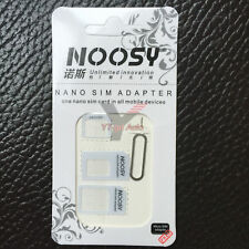2x Nano SIM Card to Micro Standard Adapter Converter Set For iPhone Samsung Sony
