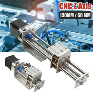 Z Axis Slide Table 150MM Stroke DIY Milling Linear Motion CNC 3 Axis Engraving