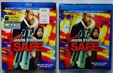 Brand New GIFT Ready Safe 2012 WS Blu-ray + Digital Copy Jason Statham w/Sleeve