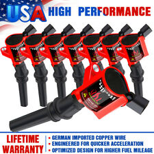 Ignition Coils 8Pcs For Ford Mercury Grand Marquis 4.6/5.4L/6.8L Dg508 2001-2004