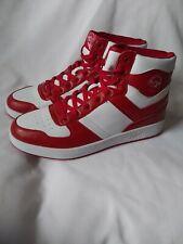 Mens Pony City Wings HI Chevron Basketball Shoes SZ10- Red White-PP1CWHI