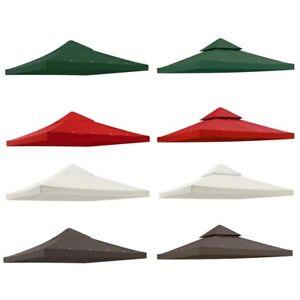 8x8' 10x10' 12x12' Gazebo Top Canopy Replacement UV30 Patio Outdoor Garden Cover