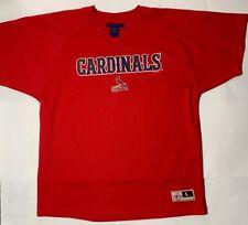 Mighty Mac Sports Youth Cardinals Baseball Shirt Large