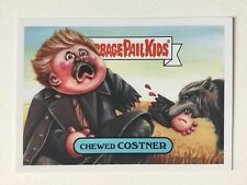 Garbage Pail Kids We Hate 90s Film Sticker 5b Chewed Costner Dancing With Wolves