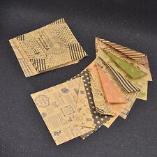 Vintage DIY Origami Washi Papier Handarbeit Chiyogami Kunst Basteln 60x Zweiseit