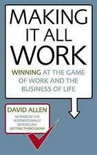 Making it All Work: Winning at the Game of Work and the Business of Life,New Con