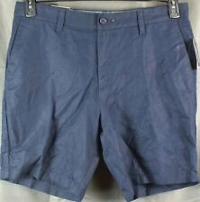 Nautica Mens Cotton Linen Blend Casual Walking Shorts
