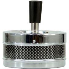 Carbon Spin Spinning ASHTRAY Smoker Cigarette Birthday Christmas Present Gift