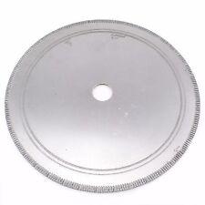 "20"" inch 500mm SuperThin Diamond Lapidary Saw Blade Notched Arbor 1-1/4"" Rim 2.5"