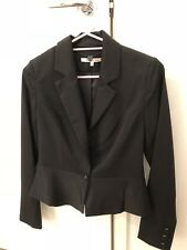 Ladies Review Black Blazer Size 10