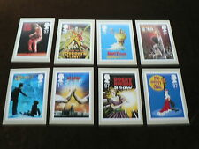 Musicals, 8 x PHQ Stamp Cards, 2011, FDI Special H/S Back