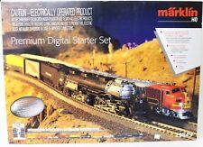 Marklin 29849 HO Premium Digital Starter SetBig Boy Steam Loco Santa Fe Diesel