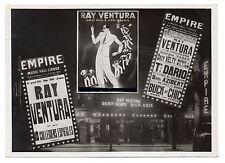 U092 Photographie vintage Originale Ray Ventura musique spectacle montage